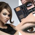 smokey eye dla brunetek